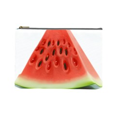 Piece Of Watermelon Cosmetic Bag (large)
