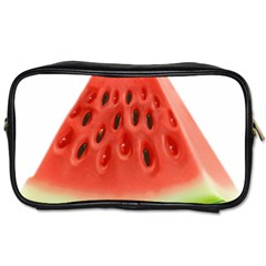 Piece Of Watermelon Toiletries Bags 2 Side by BangZart