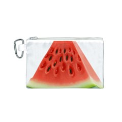 Piece Of Watermelon Canvas Cosmetic Bag (s) by BangZart