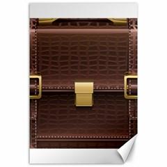 Brown Bag Canvas 24  X 36