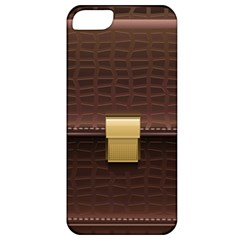 Brown Bag Apple Iphone 5 Classic Hardshell Case by BangZart