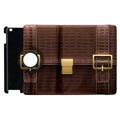 Brown Bag Apple Ipad 2 Flip 360 Case by BangZart