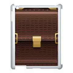Brown Bag Apple Ipad 3/4 Case (white)