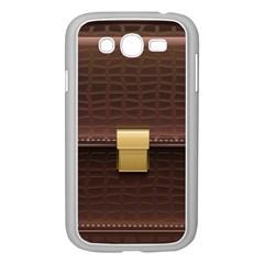 Brown Bag Samsung Galaxy Grand Duos I9082 Case (white) by BangZart
