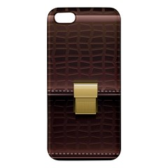Brown Bag Iphone 5s/ Se Premium Hardshell Case by BangZart