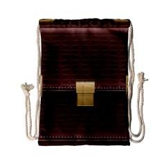 Brown Bag Drawstring Bag (small)