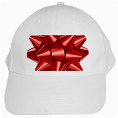Red Bow White Cap by BangZart