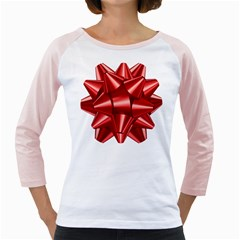 Red Bow Girly Raglans