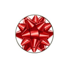 Red Bow Hat Clip Ball Marker by BangZart