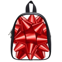 Red Bow School Bags (small)  by BangZart