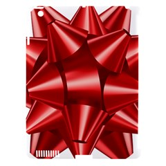 Red Bow Apple Ipad 3/4 Hardshell Case (compatible With Smart Cover) by BangZart