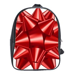 Red Bow School Bags (xl)  by BangZart