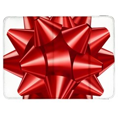 Red Bow Samsung Galaxy Tab 7  P1000 Flip Case by BangZart