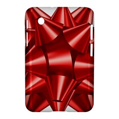 Red Bow Samsung Galaxy Tab 2 (7 ) P3100 Hardshell Case