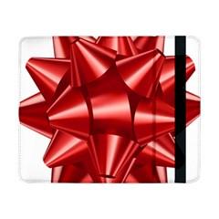 Red Bow Samsung Galaxy Tab Pro 8 4  Flip Case