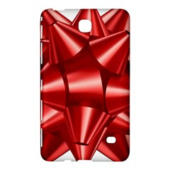 Red Bow Samsung Galaxy Tab 4 (7 ) Hardshell Case  by BangZart