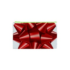 Red Bow Cosmetic Bag (xs)