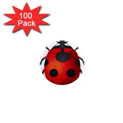 Ladybug Insects 1  Mini Magnets (100 Pack)