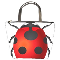 Ladybug Insects Bucket Bags