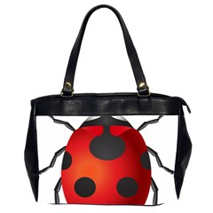 Ladybug Insects Office Handbags (2 Sides)  by BangZart