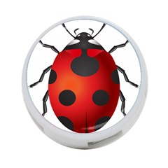 Ladybug Insects 4 Port Usb Hub (one Side)