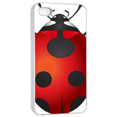 Ladybug Insects Apple Iphone 4/4s Seamless Case (white) by BangZart