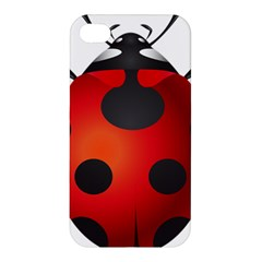 Ladybug Insects Apple Iphone 4/4s Premium Hardshell Case by BangZart