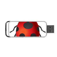 Ladybug Insects Portable Usb Flash (two Sides) by BangZart