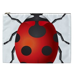 Ladybug Insects Cosmetic Bag (xxl)  by BangZart