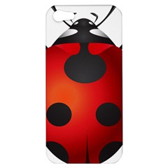 Ladybug Insects Apple Iphone 5 Hardshell Case by BangZart
