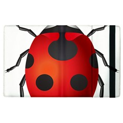 Ladybug Insects Apple Ipad 3/4 Flip Case by BangZart