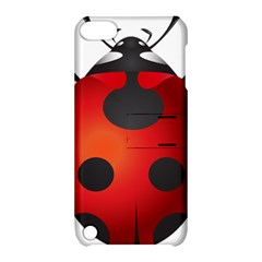 Ladybug Insects Apple Ipod Touch 5 Hardshell Case With Stand