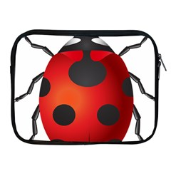 Ladybug Insects Apple Ipad 2/3/4 Zipper Cases