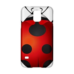 Ladybug Insects Samsung Galaxy S5 Hardshell Case  by BangZart