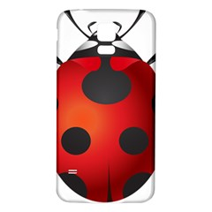 Ladybug Insects Samsung Galaxy S5 Back Case (white) by BangZart
