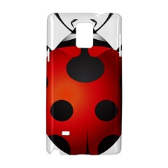 Ladybug Insects Samsung Galaxy Note 4 Hardshell Case by BangZart