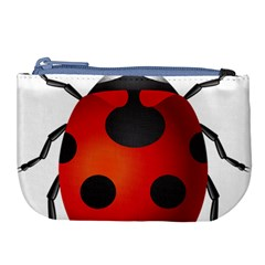 Ladybug Insects Large Coin Purse by BangZart