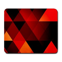 Abstract Triangle Wallpaper Large Mousepads