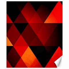 Abstract Triangle Wallpaper Canvas 8  X 10