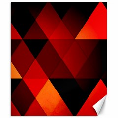 Abstract Triangle Wallpaper Canvas 20  X 24   by BangZart