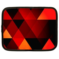 Abstract Triangle Wallpaper Netbook Case (large) by BangZart