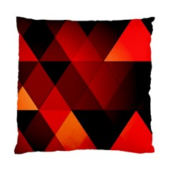 Abstract Triangle Wallpaper Standard Cushion Case (two Sides) by BangZart