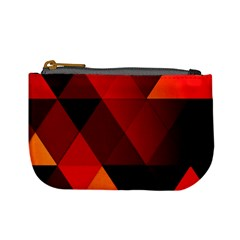 Abstract Triangle Wallpaper Mini Coin Purses