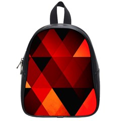Abstract Triangle Wallpaper School Bags (small)  by BangZart