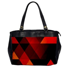 Abstract Triangle Wallpaper Office Handbags by BangZart
