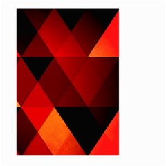 Abstract Triangle Wallpaper Large Garden Flag (two Sides)