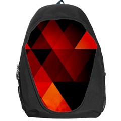 Abstract Triangle Wallpaper Backpack Bag by BangZart