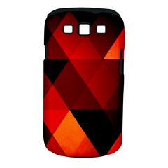Abstract Triangle Wallpaper Samsung Galaxy S Iii Classic Hardshell Case (pc+silicone)