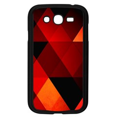 Abstract Triangle Wallpaper Samsung Galaxy Grand Duos I9082 Case (black) by BangZart