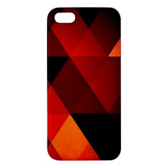 Abstract Triangle Wallpaper Iphone 5s/ Se Premium Hardshell Case